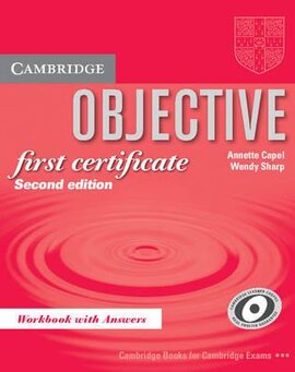 Objective FCE 2nd edition. Workbook with answers - фото книги