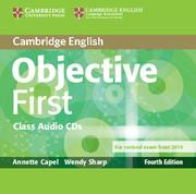Аудіодиск Objective First Class Audio CDs