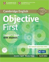 Objective First Student's Book with Answers - фото обкладинки книги