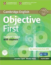 Посібник Objective First Student's Book with Answers