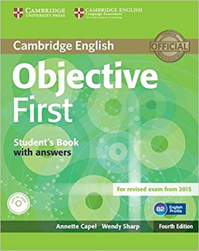 Підручник Objective First Student's Book with Answers