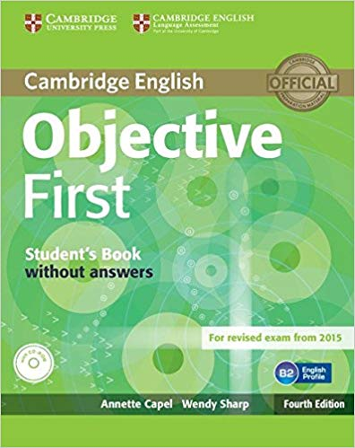 Підручник Objective First Student's Book without Answers with CD-ROM
