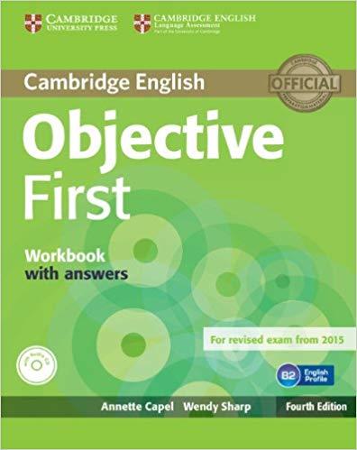 Робочий зошит Objective First Workbook with Answers