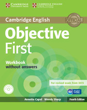 Робочий зошит Objective First Workbook without Answers