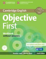 Робочий зошит Objective First Workbook without Answers