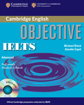 Objective IELTS Advanced Self Study Student's Book - фото обкладинки книги