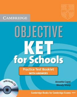 Objective KET. Practice Test Booklet with Answers + Audio CD - фото книги