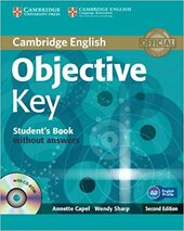 Objective Key 2nd Student's Book without Answers - фото обкладинки книги