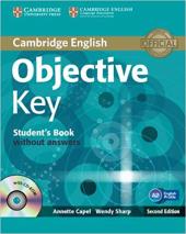 Objective Key 2nd Student's Book without Answers - фото обкладинки книги