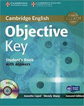 Objective Key Student's Book with Answers - фото обкладинки книги