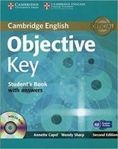 Objective Key Student's Book with Answers - фото обкладинки книги