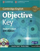 Аудіодиск Objective Key Student's Book with Answers