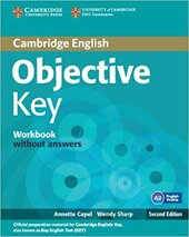 Підручник Objective Key Workbook without Answers