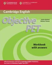 Objective PET 2nd Edition. Workbook with answers - фото обкладинки книги