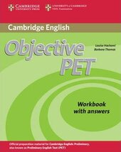 Objective PET 2nd Edition. Workbook with answers - фото обкладинки книги