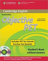 Objective PET 2nd For Schools Pack without Answers - фото обкладинки книги
