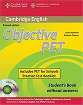 Аудіодиск Objective PET 2nd For Schools Pack without Answers