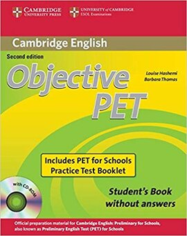 Objective PET 2nd For Schools Pack without Answers - фото книги