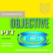 Objective PET. Audio CD Set (комплект із 3 аудіодисків) - фото обкладинки книги