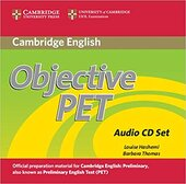 Книга для вчителя Objective PET Audio CDs