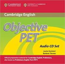 Книга для вчителя Objective PET Audio CDs