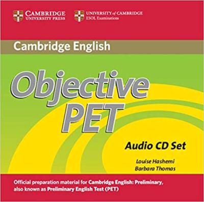 Аудіодиск Objective PET Audio CDs