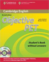 Objective PET Student's Book without Answers - фото обкладинки книги