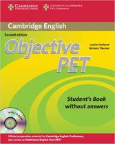 Книга для вчителя Objective PET Student's Book without Answers