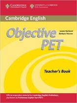 Підручник Objective PET Teacher's Book