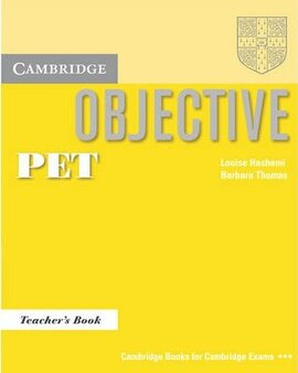 Objective PET. Teacher's Book - фото книги