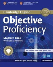 Objective Proficiency. Student's Book without Answers + Downloadable Software - фото обкладинки книги