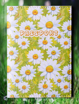 "Обкладинка на паспорт ""Ромашка"" 49 - фото книги"