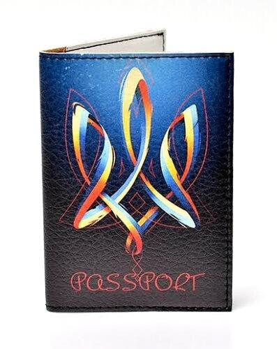 "Обкладинка на паспорт ""Тризуб"" 138"