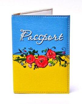 "Обкладинка на паспорт ""В українському стилі"" 140 - фото книги"