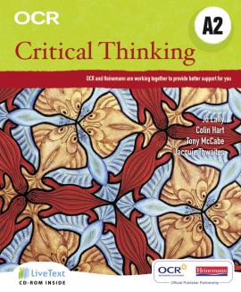OCR A Level Critical Thinking Student Book (A2) + CD-Rom (підручник) - фото книги