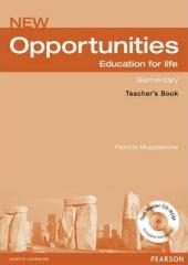 Opportunities Global Elementary Teacher's Book - фото обкладинки книги