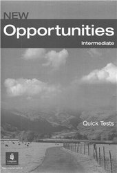 Opportunities Intermediate Quick Tests - фото обкладинки книги