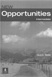 Книга для вчителя Opportunities Intermediate Quick Tests