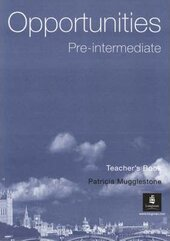 Opportunities Pre-Intermediate Global: Opportunities Pre-Intermediate Global Teacher's Book Teacher's Book - фото обкладинки книги