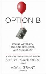 Option B : Facing Adversity, Building Resilience, and Finding Joy - фото обкладинки книги
