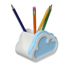Органайзер Cloud Notes Desk Accessory - фото книги