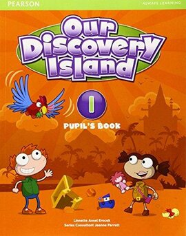 Our Discovery Island 1 Student Book+pin code (підручник) - фото книги
