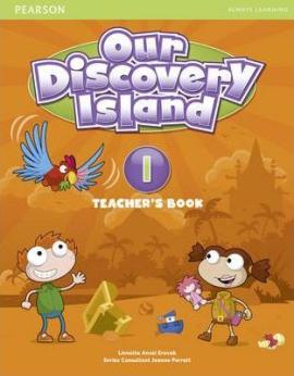 Our Discovery Island 1 Teacher's Book+pin code (книга вчителя) - фото книги