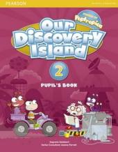 Our Discovery Island 2 Student Book+pin code (підручник) - фото обкладинки книги