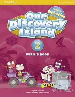 Our Discovery Island 2 Student Book+pin code (підручник) - фото книги