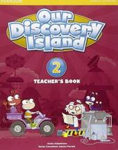 Our Discovery Island 2 Teacher's Book+pin code (книга вчителя) - фото обкладинки книги