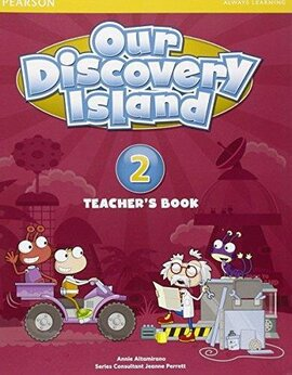 Our Discovery Island 2 Teacher's Book+pin code (книга вчителя) - фото книги