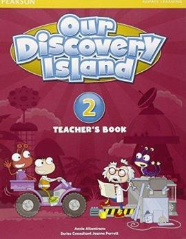 Our Discovery Island 2 Teacher's Book+pin code (книга вчителя) - фото книги