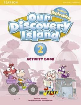 Our Discovery Island 2 Workbook+CD - фото книги