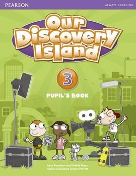 Our Discovery Island 3 Student Book+pin code (підручник) - фото книги